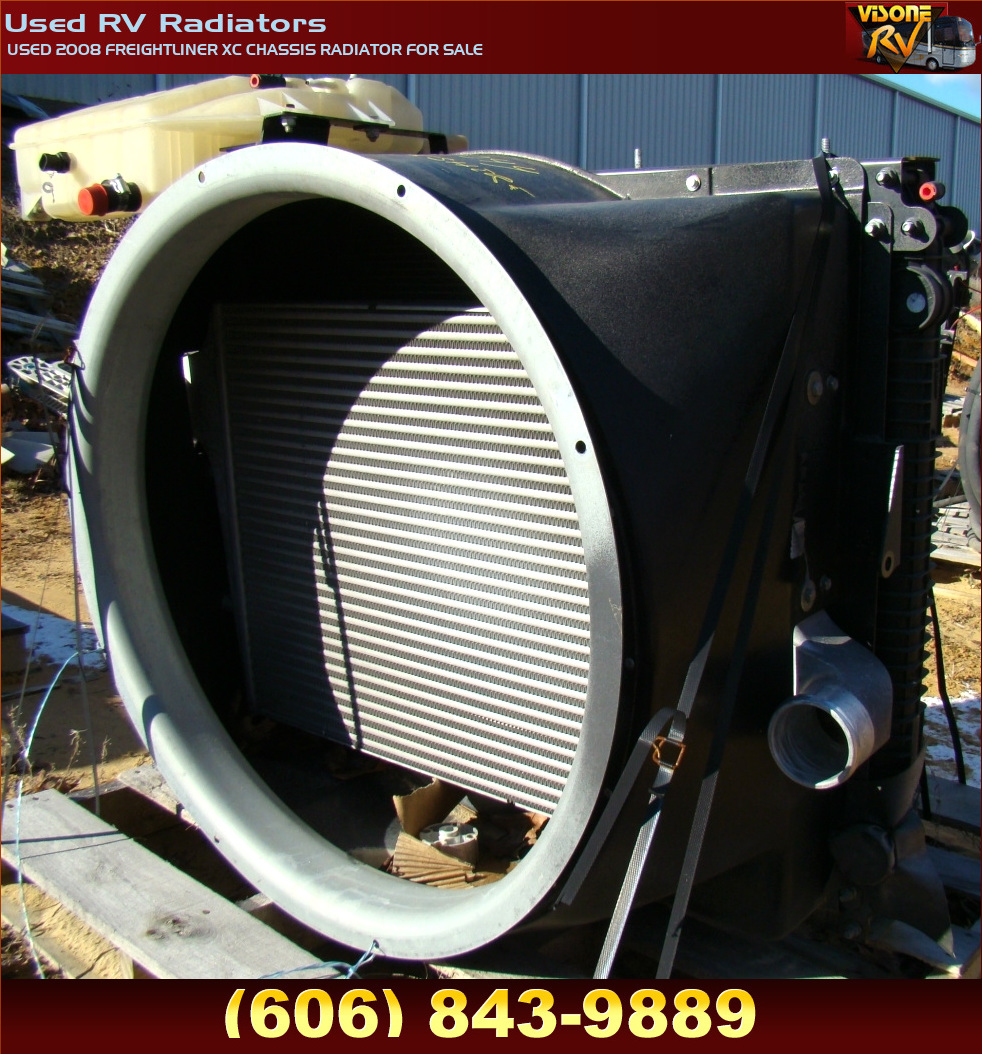 Rv Chassis Parts Used 2008 Freightliner Xc Chassis Radiator For Sale Used Rv Radiators Used 2008 Freightliner Xc Chassis Radiator For Sale