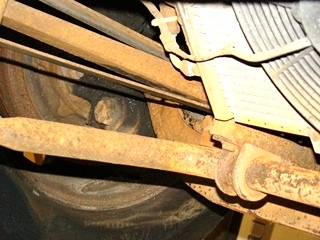 Used Rockwell Front Axle Model# FD965NXS1