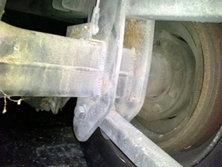 USED SPICER DRIVE REAR AXLE MODEL: 21060S
