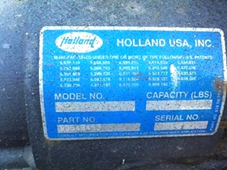 USED TAG AXEL HOLLAND USA P/N: 90548453 **SOLD**