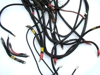 USED HEAVY DUTY COPPER BATTERY CABLES