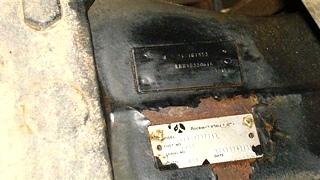 USED ROCKWELL REAR DIVE AXLE MODEL: RS19145NBF149