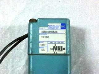USED RV/MOTORHOME AIR SOLENOID P/N:  225B-601BAAA