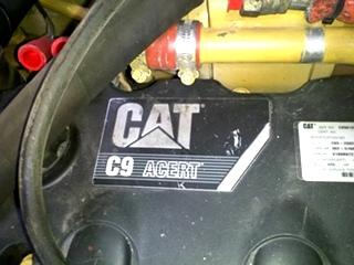 USED CATERPILLAR MOTOR | CAT C9 DIESEL MOTOR 425HP FOR SALE - YEAR 2008