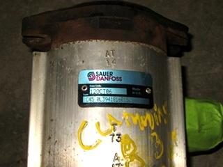 USED SAUER DANFOSS HYDRAULIC PUMP TYPE C450L FOR SALE