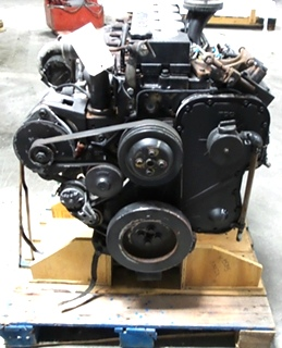 USED CUMMINS DIESEL MOTOR | CUMMINS 8.3L ISC 350 DIESEL ENGINE FOR SALE - LOW MILES