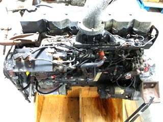 USED CUMMINS DIESEL MOTOR | CUMMINS 8.3L ISC 350 DIESEL ENGINE FOR SALE - LOW MILES