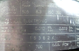 CUMMINS DIESEL ENGINE | CUMMINS ISC350 8.3L 350HP FOR SALE