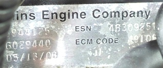 CUMMINS DIESEL ENGINE   CUMMINS ISC350 8.3L 350HP FOR SALE
