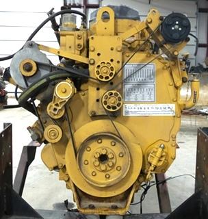 USED CATERPILLAR ENGINE   2003 CAT C12 DIESEL 11.9L 505HP MOTOR FOR SALE