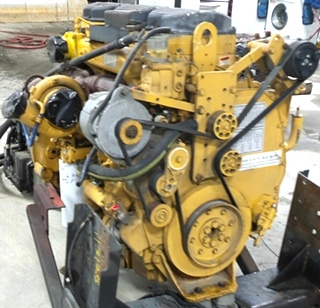 USED CATERPILLAR ENGINE | 2003 CAT C12 DIESEL 11.9L 505HP MOTOR FOR SALE