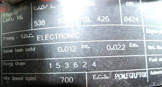 USED CUMMINS DIESEL MOTOR   CUMMINS DIESEL ENGINE FOR SALE 8.9L ISL425 2007