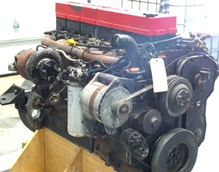 CUMMINS DIESEL ENGINE | CUMMINS 8.8L ISL400 FOR SALE - LOW MILES