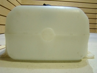 USED WINDSHIELD WASHER FLUID JUG WITH ELECTRIC MOTOR
