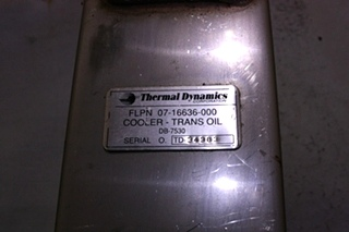 USED TRANSMISSION COOLER THERMAL DYNAMICS