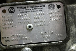 USED ALLISON TRANSMISSION MD3000MH FOR SALE BUS/MOTORHOME/TRUCK