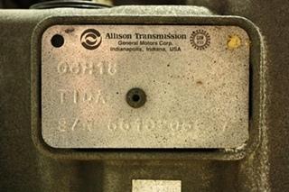 USED ALLISON TRANSMISSION 4000MH FOR SALE