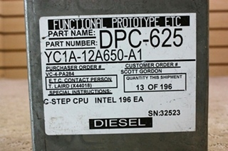 USED DIESEL FORD ECM YC1A-12A650-A1 FOR SALE