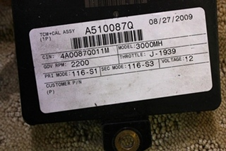 USED ALLISON TRANSMISSION TCM P/N 29545536 FOR SALE