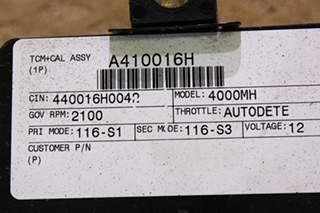 USED ALLISON TRANSMISSION TCM P/N 29544773 FOR SALE