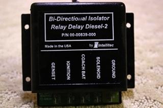USED INTELLITEC BI-DIRECTIONAL ISOLATOR RELAY DELAY DIESEL-2 FOR SALE