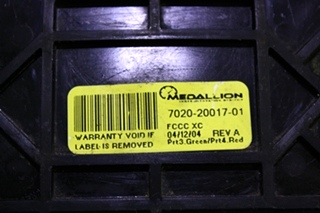 USED VEHICLE DYNAMICS CONTROLLER 7020-20017-01 FOR SALE