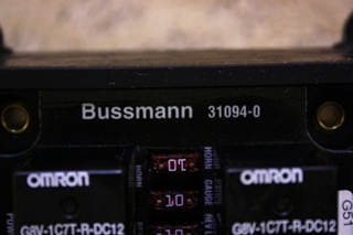 USED BUSSMANN FUSE MODULE 31094-0 FOR SALE