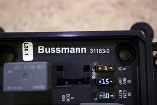 USED BUSSMANN MODULE 31183-0 FOR SALE