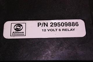USED ALLISON TRANSMISSION 12 V 6 RELAY 29509886 FOR SALE