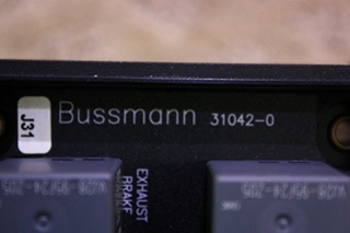 USED BUSSMANN MODULE 31042-0 FOR SALE