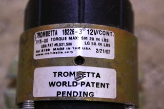 USED TROMBETTA 18226-3 FOR SALE