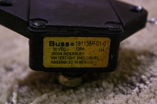 USED BUSSMANN CIRCUIT BREAKER 181135P-01-0 FOR SALE