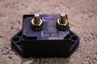 USED SDLA-80 KLIXON CIRCUIT BREAKER FOR SALE