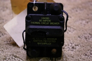 USED THERMAL CIRCUIT BREAKER 184080 FOR SALE