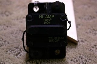 USED HI-AMP BUSSMANN 184100F FOR SALE