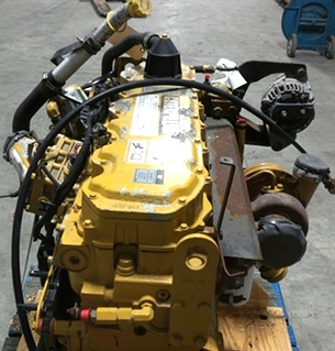 USED CATERPILLAR ENGINE 3126 7.2L YEAR 2003 330HP LOW MILES FOR SALE