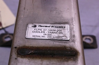USED COOLER-TRANS OIL 07-16636-000