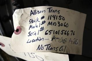ALLISON TRANSMISSION SALES | USED ALLISON MD3060 TRANSMISSION FOR SALE