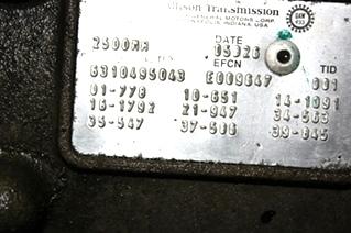 USED 2500MH ALLISON TRANSMISSION FOR SALE
