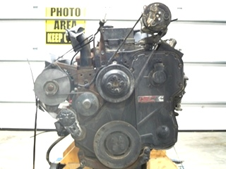 CUMMINS DIESEL ENGINE 8.3L 350HP FOR SALE - LOW MILES