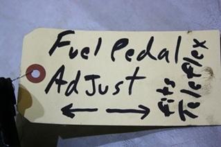 USED FUEL PEDAL ADJUST FOR SALE