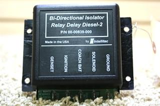 USED BI-DIRECTIONAL ISOLATOR RELAY DELAY DIESEL-2 FOR SALE