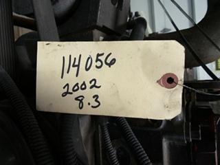 CUMMINS DIESEL ENGINE   CUMMINS 8.3L 350HP 2002 FOR SALE - LOW MILES