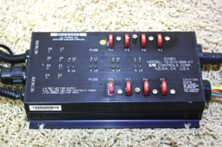 USED RV PARTS DINEX I/O CONTROL MODULE T2-DIO-888-K7 FOR BLUE BIRD WANDERLODGE MOTORHOME PARTS FOR SALE