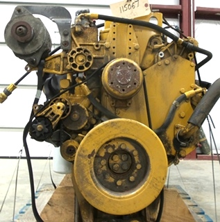 USED CATERPILLAR ENGINE   CAT 3126 7.2L YEAR 2003 330HP 43,737 MILES FOR SALE