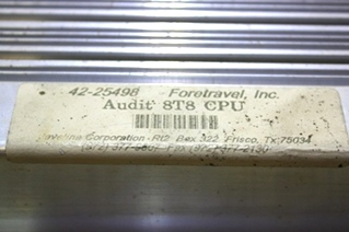 USED RV PARTS FORETRAVEL AUDIT 8T8 CPU FOR SALE
