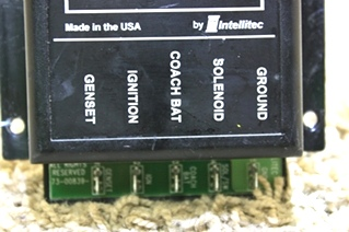 USED RV INTELLITEC DI-DIRECTIONAL ISOLATOR RELAY DELAY DIESEL 2 00-00839-000 FOR SALE