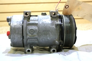 USED RV SANDEN A/C COMPRESSOR U 4666 MOTORHOME PARTS FOR SALE