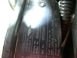 USED CUMMINS ISC 330 | 2005 CUMMINS ISC330 FOR SALE *SOLD*
