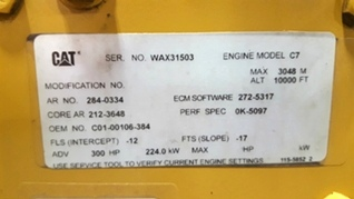 USED CATERPILLAR ENGINE | 2006 CAT 3126 7.2L FOR SALE **SOLD**